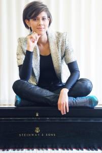 Die Jazzmusikerin Olivia Trummer